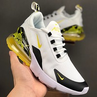 Nike Air Max 270 Sports and leisure air cushion running shoes
