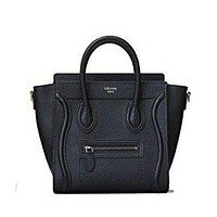 Eline Medium Luggage Phanton Bag In Baby Grained Calfskin