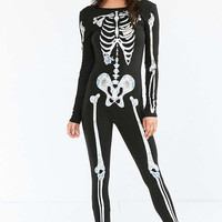 Out From Under Skeleton Catsuit - Urban Outfitters