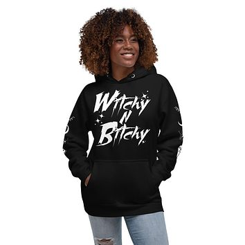 WITCHY N BITCHY Unisex Hoodie