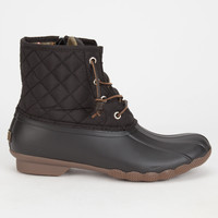 SPERRY Saltwater Quilted Womens Duck Boots | Boots & Booties