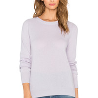 AG Adriano Goldschmied Rylea Cashmere Sweater in Lavender Mist