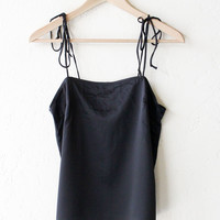 Tie-Shoulder Tank Top