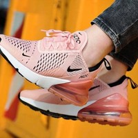 "NIKE Air Max 270 ""Fire Pink"" Women Running Shoes Sneaker AH6789-600"