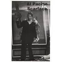 Scarface Tony Montana Al Pacinio Movie Poster 23x35