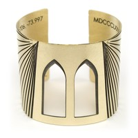 Brooklyn Bridge cuff bracelet