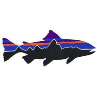 Patagonia Fitzroy Trout Sticker | Vail Valley Anglers