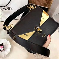 FENDI High Quality Newest Popular Women Shopping Leather Handbag Bag Shoulder Bag Crossbody Satchel