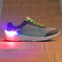 Night Safe Running Shoe Clamp Bicycle Accessories luminescence shoes lamp Oudoor Sport Safety warning Flash shoes Clamp SS