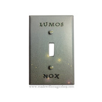 Lumos/Nox - Wizard Inspired Switch Plate