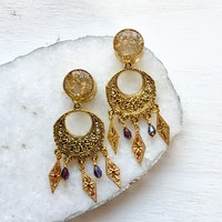 Gypsy Chandelier Gold Plugs