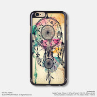 Dream Catcher with Water Color iPhone 6 6Plus case iPhone 5s case iPhone 5C case iPhone 4 4S case Samsung galaxy Note 2 Note 3 Note 4 S3 S4 S5 case 492