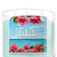 3-Wick Candle Tahiti - Passionflower