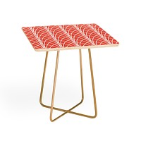 Heather Dutton Arcada Persimmon Side Table