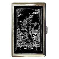 Death Tarot card Money/card/cigarette case