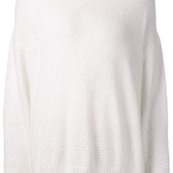 Tanya Taylor contrasting neck sweater