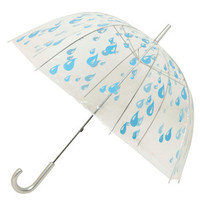 ModCloth Raindrops Keep Falling Umbrella