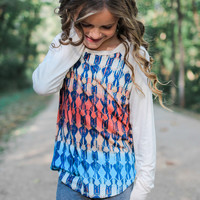 Watercolor Wonder Baseball Tee - Kids