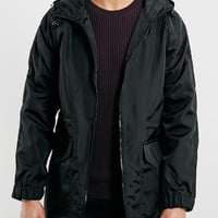 BLACK LIGHTWEIGHT PARKA JACKET - New This Week - New In