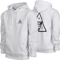 HUF HUF x Obey Triple Triangle Hoodie - white - Free Shipping