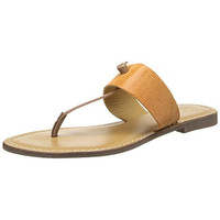 Rebels Womens Paityn Leather T-Strap Thong Sandals
