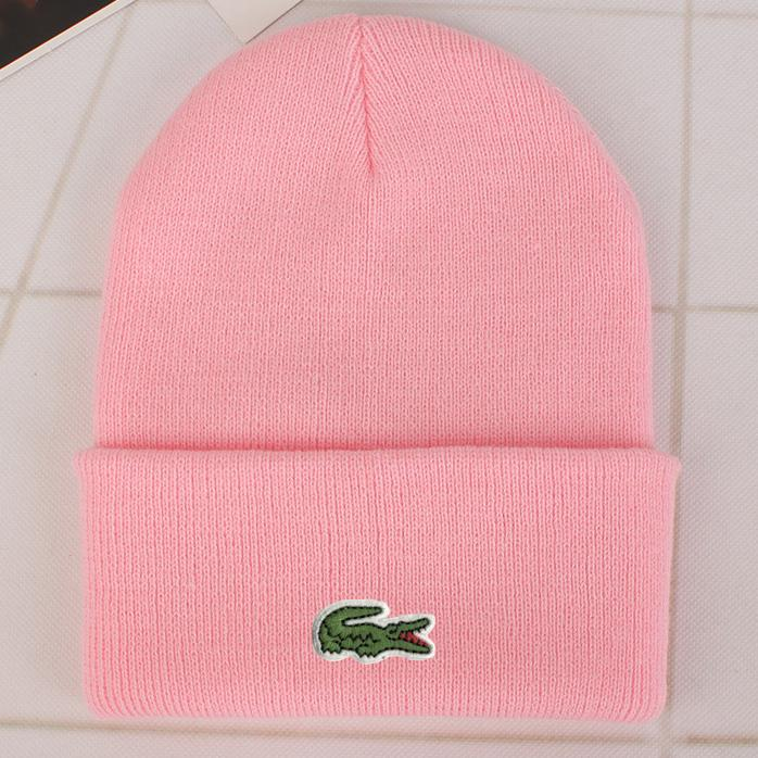 Image of Perfect Lacoste Fashion Edgy  Winter Beanies Knit Hat Cap
