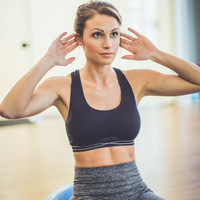 Mind Over Matter Sport Bra in Black