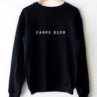Carpe Diem Oversized Sweatshirt