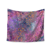 """Marianna Tankelevich """"Pink Universe"""" Pink Purple Wall Tapestry"""