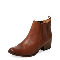 Gallant Leather Ankle Bootie