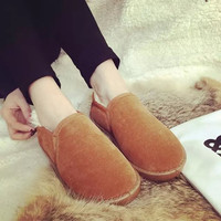 On Sale Hot Deal Flat Cotton Shoes Casual Boots [7993618689]