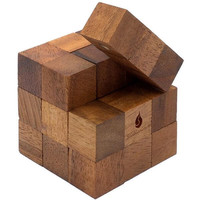 Snake Cube Wooden Puzzle - Puzzle Haven