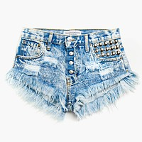 450 Wildest Acid Babe High Waisted Shorts