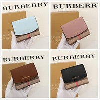 BURBERRY WOMEN'S LEATHER WALLET