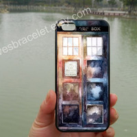 Protective Doctor Who Watercolor Tardis,iPhone 5s case,iPhone 5c case,Samsung Galaxy S3 S4 Case,iPhone 4 Case,iPhone 5 Case,iPhone case-004