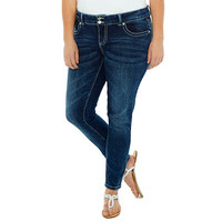 Calabria Double Button Skinny Jeans