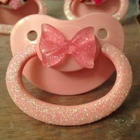 ABDL Custom Pacifier - Binky, Dummy - Adult little, Daddy, Mommy, Sissy, Age Play - BDSM, DDlg, MDlg, DDlb, MDlb - Resin, Flatback, Cabochon