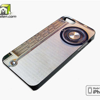 Radio Iphone Case iPhone 5s Case Cover by Avallen