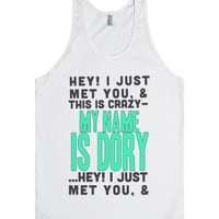 My Name is Dory | Call me maybe Tank-Unisex White Tank