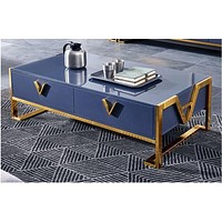 Light Luxury Super Fluous Wooden Coffee Table