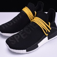 Adidas NMD Boost Race PW Human BLACK WHITE SHOES