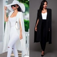 Female Extra Long Wide Trench Coat