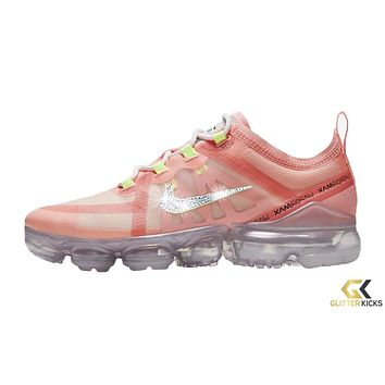 Nike Air VaporMax 2019 + Crystals - Pink Tint/Barely Volt/Lt Cream/Summit White   Easter Pack