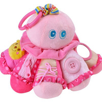Pink Interactive Hanging Octopuss Toy