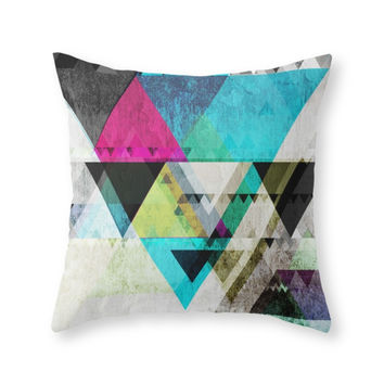 Society6 Graphic 4 X Throw Pillow