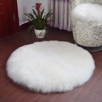 Surprise Soft Artificial Sheepskin Rug Chair Cover Artificial Wool Warm Hairy Carpet Seat