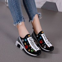 shosouvenir DOLCE & GABBANA  D&G Fashion casual sports shoes