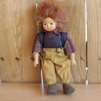 Collectible Kein Spielzeug Doll, Porcelain Ceramic Doll, Boy Doll