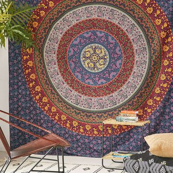 Magical Thinking Large Hippie Tapestry Mandala Bohemian Bedspread Throw