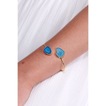 Ice Queen Cuff (Blue)